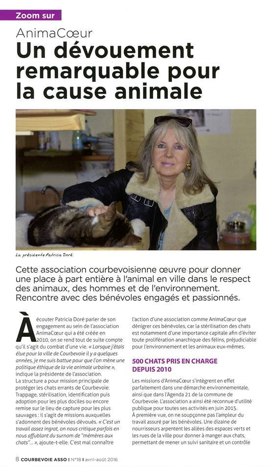 Courbevoie Mag Avril Aout 2016
